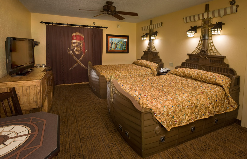 A Look At A Completed Pirates Of The Caribbean Room At The