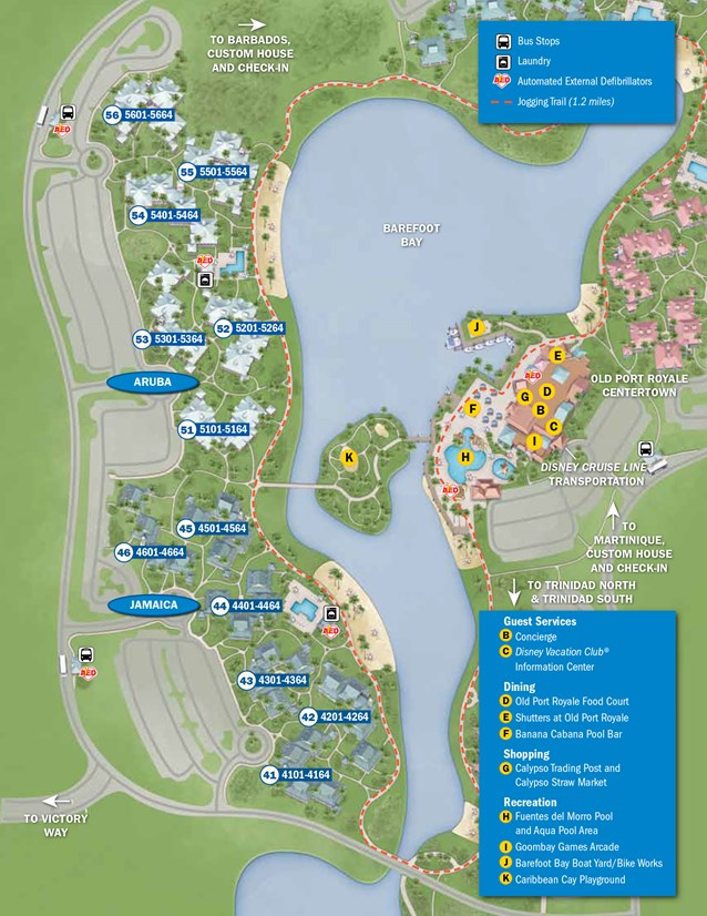 Disney's Caribbean Beach Resort