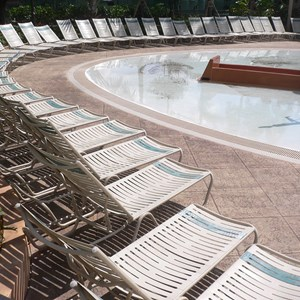 1 of 16: Disney's Caribbean Beach Resort - New Caribbean Beach Resort pool complete