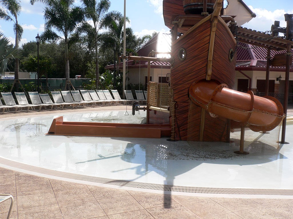 New Caribbean Beach Resort pool complete
