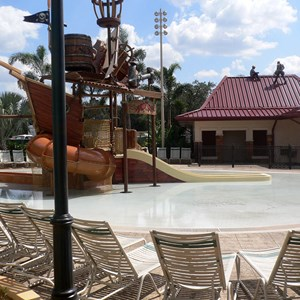 3 of 16: Disney's Caribbean Beach Resort - New Caribbean Beach Resort pool complete