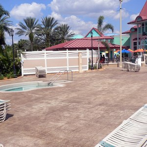 11 of 16: Disney's Caribbean Beach Resort - New Caribbean Beach Resort pool complete