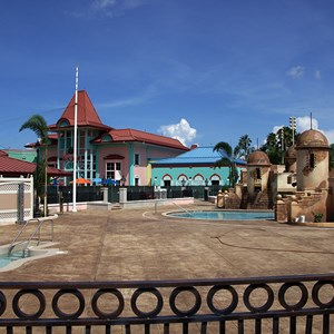 4 of 11: Disney's Caribbean Beach Resort - Latest Caribbean Beach Resort pool refurbishment photos