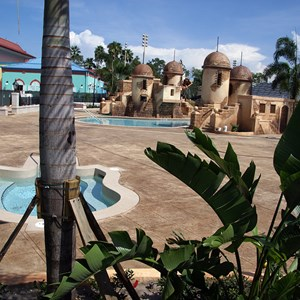 10 of 11: Disney's Caribbean Beach Resort - Latest Caribbean Beach Resort pool refurbishment photos