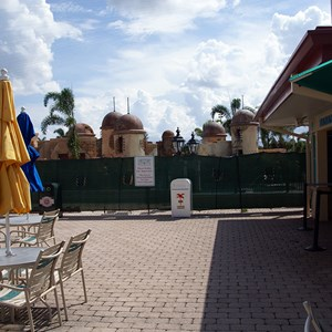 11 of 11: Disney's Caribbean Beach Resort - Latest Caribbean Beach Resort pool refurbishment photos