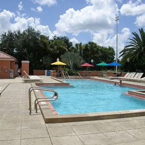 1 of 1: Disney's Caribbean Beach Resort - Trinidad North quiet pool
