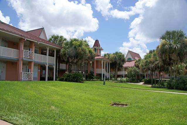Disney's Caribbean Beach Resort - Buildings 35 and 36