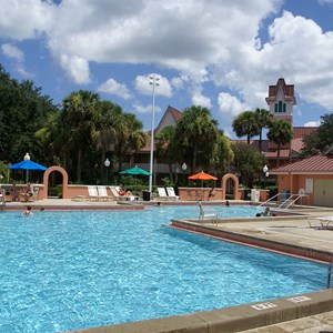 1 of 1: Disney's Caribbean Beach Resort - Trinidad South quiet pool