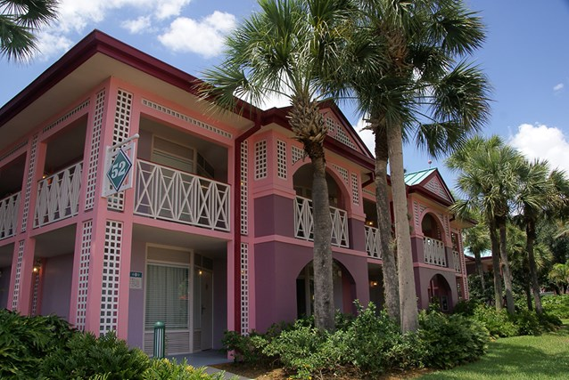 Disney's Caribbean Beach Resort - Building 52