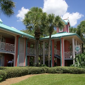 8 of 10: Disney's Caribbean Beach Resort - Building 12