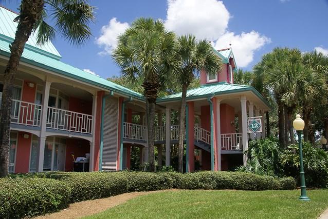 Disney's Caribbean Beach Resort - Building 12