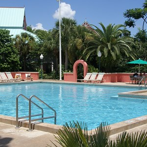 1 of 1: Disney's Caribbean Beach Resort - Barbados quiet pool
