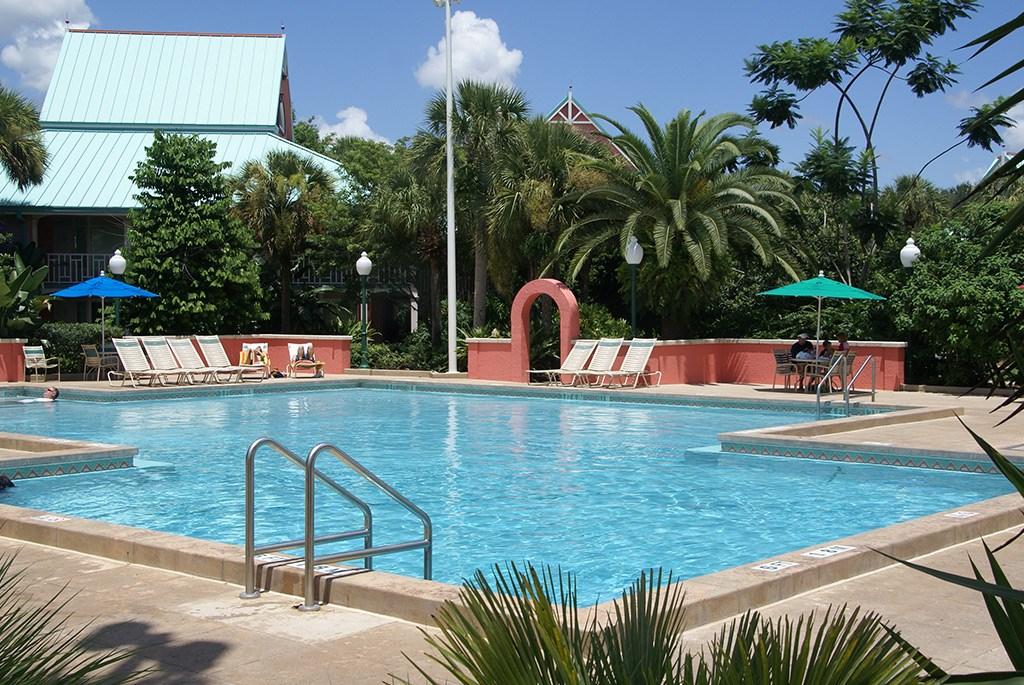 Barbados quiet pool