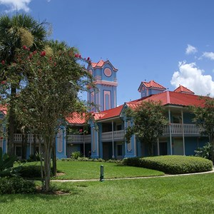 2 of 8: Disney's Caribbean Beach Resort - Building 22