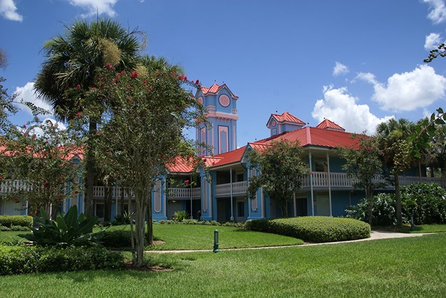 Disney's Caribbean Beach Resort - Building 22