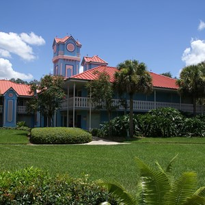 4 of 8: Disney's Caribbean Beach Resort - Building 22