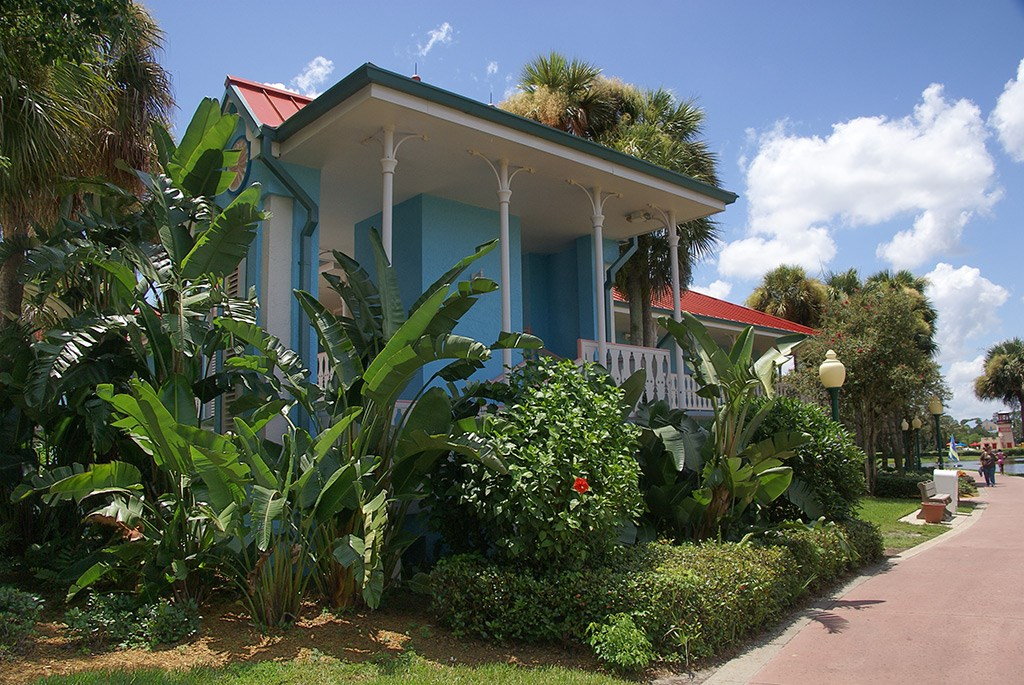Martinique buildings and grounds