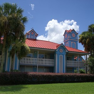 6 of 8: Disney's Caribbean Beach Resort - Building 25