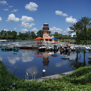 1 of 4: Disney's Caribbean Beach Resort - Barefoot Bay Boat Yard