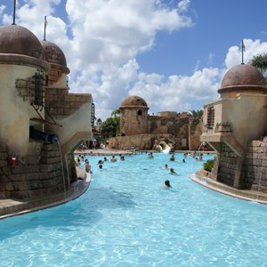 1 of 5: Disney's Caribbean Beach Resort - Old Port Royale feature pool