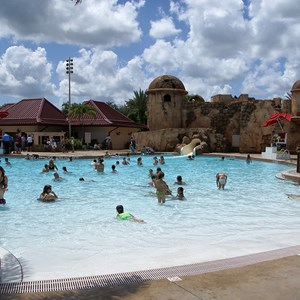 2 of 5: Disney's Caribbean Beach Resort - Old Port Royale feature pool