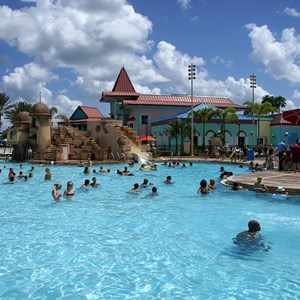 4 of 5: Disney's Caribbean Beach Resort - Old Port Royale feature pool