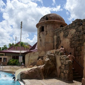 5 of 5: Disney's Caribbean Beach Resort - Old Port Royale feature pool