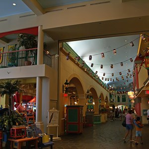 4 of 6: Disney's Caribbean Beach Resort - Old Port Royale Centertown