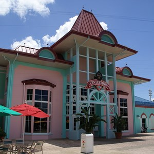 6 of 6: Disney's Caribbean Beach Resort - Old Port Royale Centertown