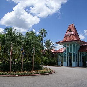 2 of 6: Disney's Caribbean Beach Resort - Old Port Royale Centertown