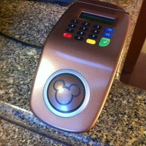 1 of 1: Disney's Contemporary Resort - RFID payment terminal