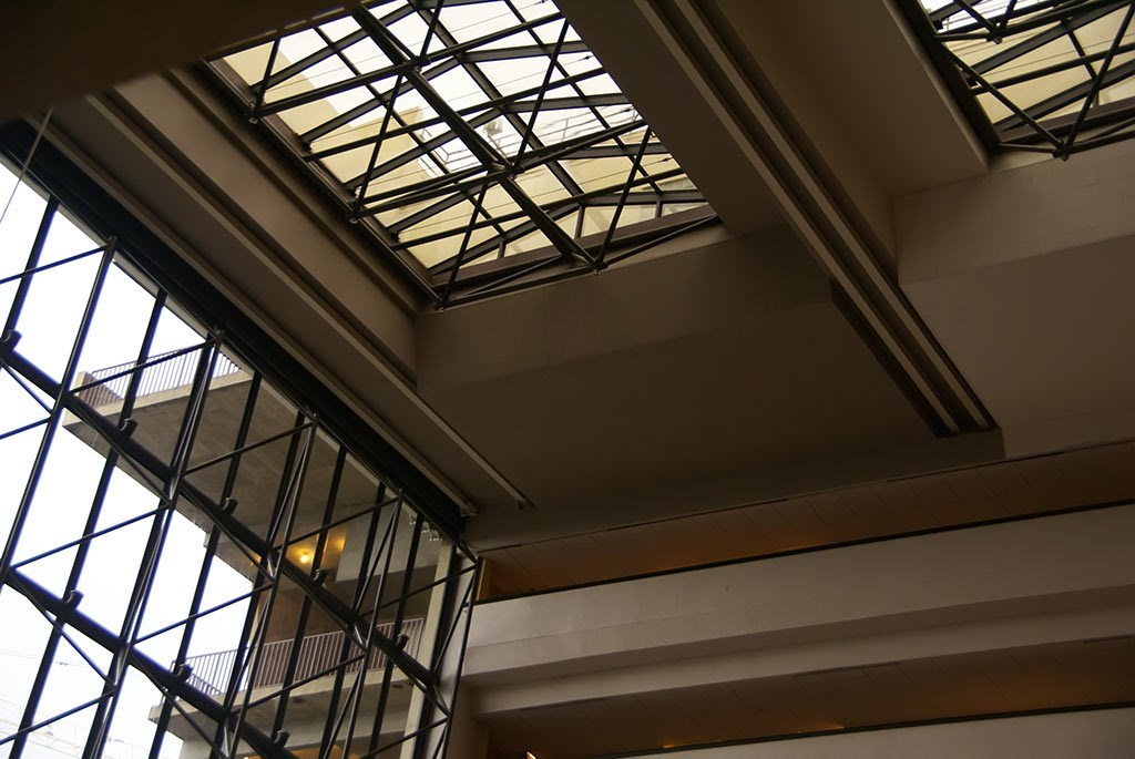 Contemporary Grand Canyon Concourse ceiling gets a new color
