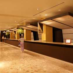 The new Contemporary Resort front desk
