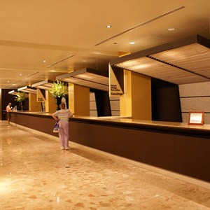 2 of 2: Disney's Contemporary Resort - The new Contemporary Resort front desk