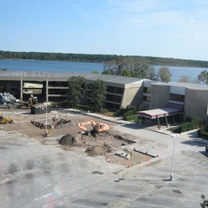 1 of 4: Disney's Contemporary Resort - Demolition of the Contemporary North Wing