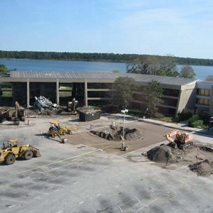 2 of 4: Disney's Contemporary Resort - Demolition of the Contemporary North Wing