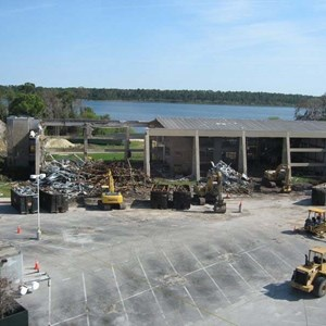 3 of 4: Disney's Contemporary Resort - Demolition of the Contemporary North Wing