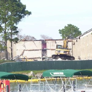 1 of 5: Disney's Contemporary Resort - Demolition of the Contemporary North Wing
