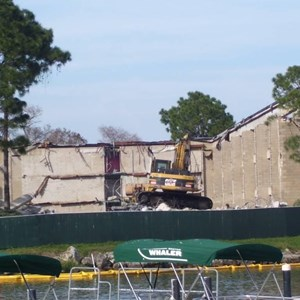 2 of 5: Disney's Contemporary Resort - Demolition of the Contemporary North Wing