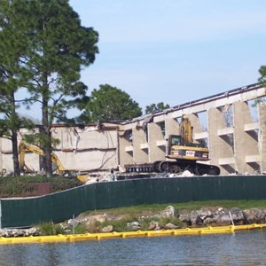 4 of 5: Disney's Contemporary Resort - Demolition of the Contemporary North Wing