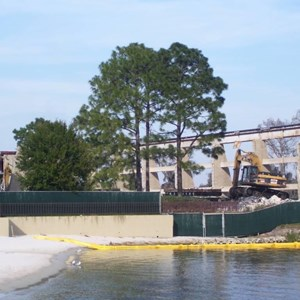 5 of 5: Disney's Contemporary Resort - Demolition of the Contemporary North Wing