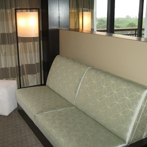 3 of 6: Disney's Contemporary Resort - New look Contemporary Resort rooms