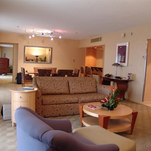 2 of 10: Disney's Contemporary Resort - A look inside the Contemporary Resort presidential suite