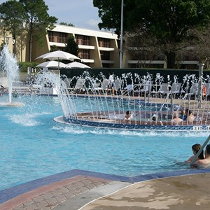 2 of 4: Disney's Contemporary Resort - Contemporary Resort feature pool post refurbishment