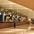 Disney&#39;s Contemporary Resort - The Contemporary Resort check-in area decorations