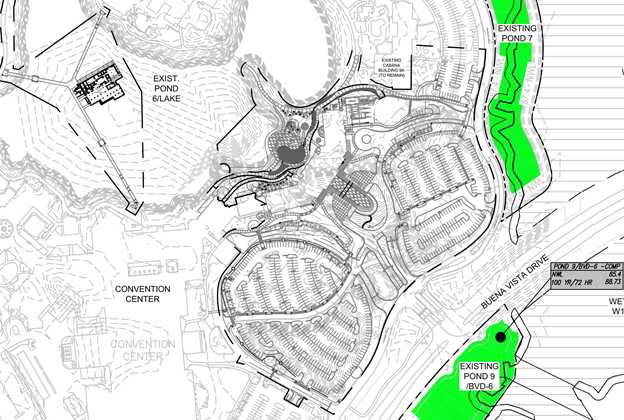 Plans for the Coronado Springs Resort Tower construction