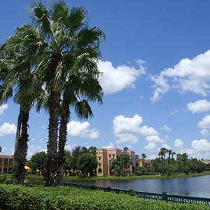 3 of 21: Disney's Coronado Springs Resort - Casitas buildings and grounds