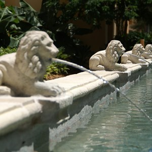 11 of 21: Disney's Coronado Springs Resort - Casitas area water feature