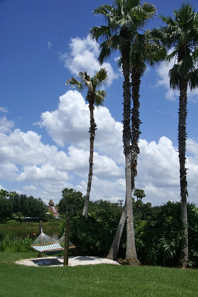 Disney's Coronado Springs Resort - Casitas area beach