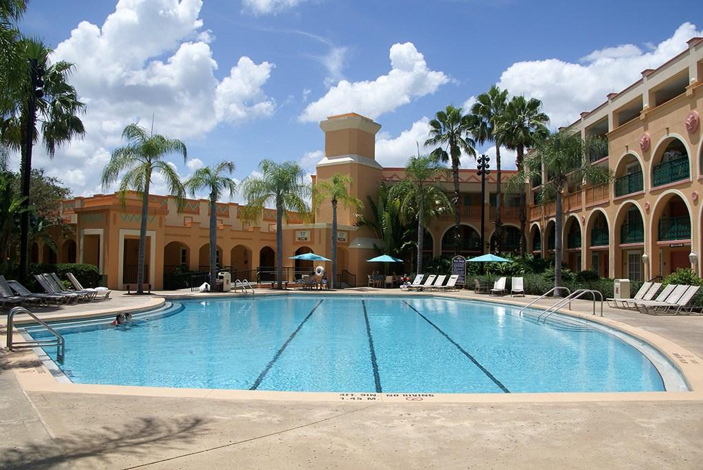 Casitas area quiet pool